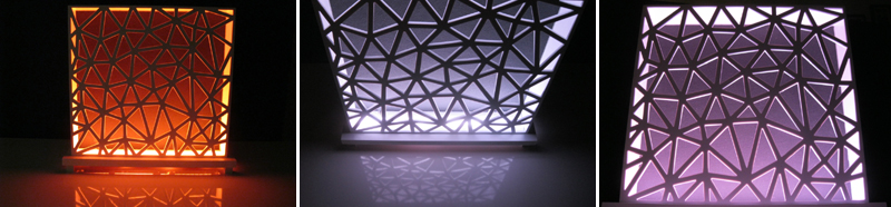 Designstudie_LED_Beleuchtung_Lampe