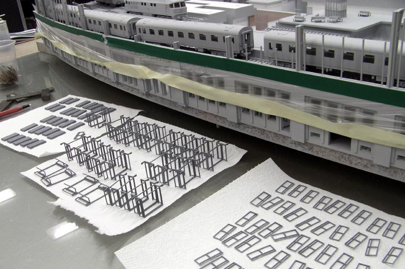 Tränenpalast und Bahnhof Friedrichstrasse Berlin Modell Erstellung_10