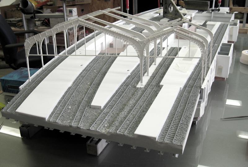 Tränenpalast und Bahnhof Friedrichstrasse Berlin Modell Erstellung_3