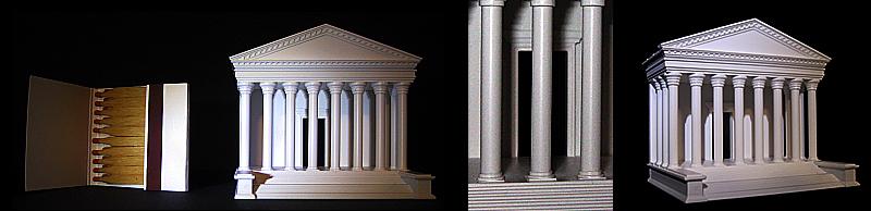 Xanten Tempel_Modellbau_1_350