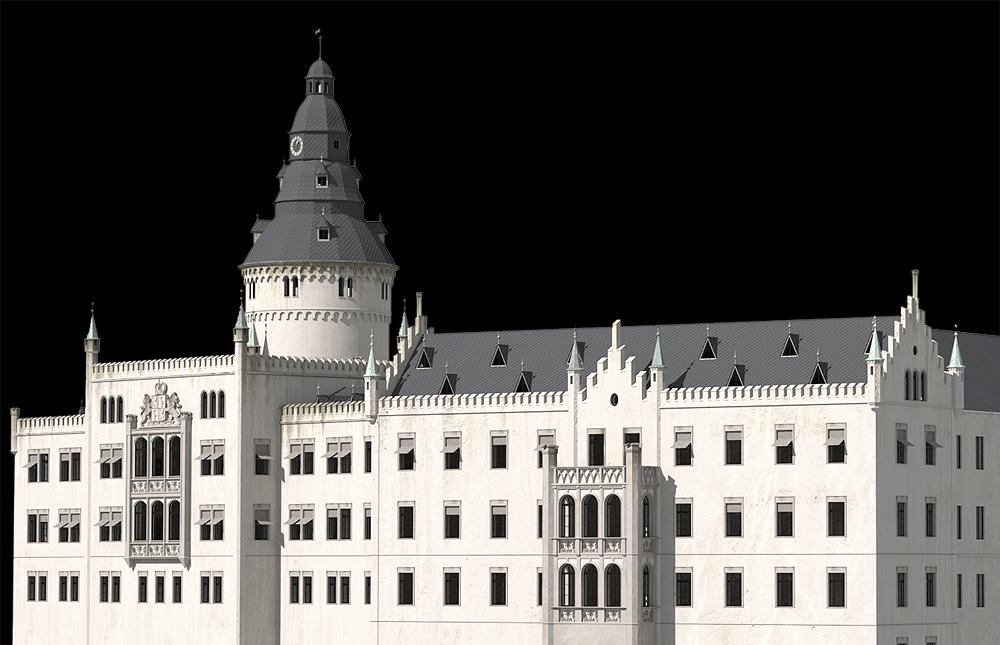 Schloss Osterstein zu Gera um 1920__8